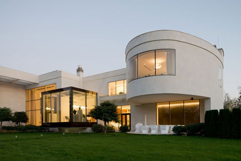 Дома с прозрачными стенами