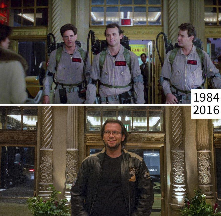 Как с годами меняются места съёмок известных фильмов