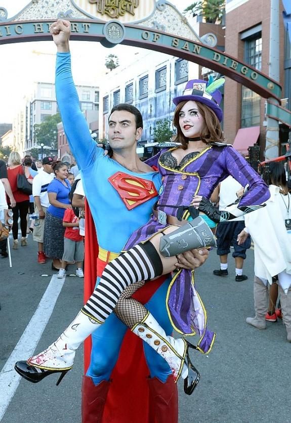 Косплей на Comic-Con 2016