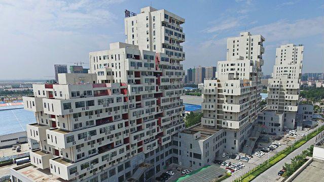 Необычные многоэтажки от китайских архитекторов