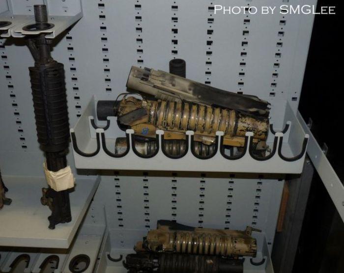 Оружейная комната Морских котиков ВМС США