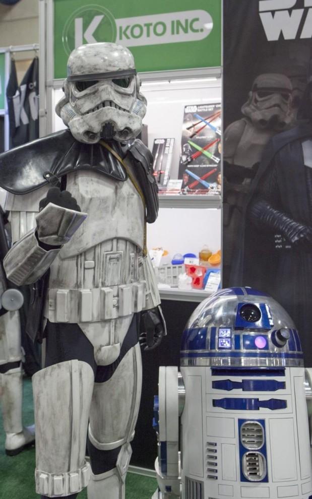 Персонажи на Comic-Con 2016
