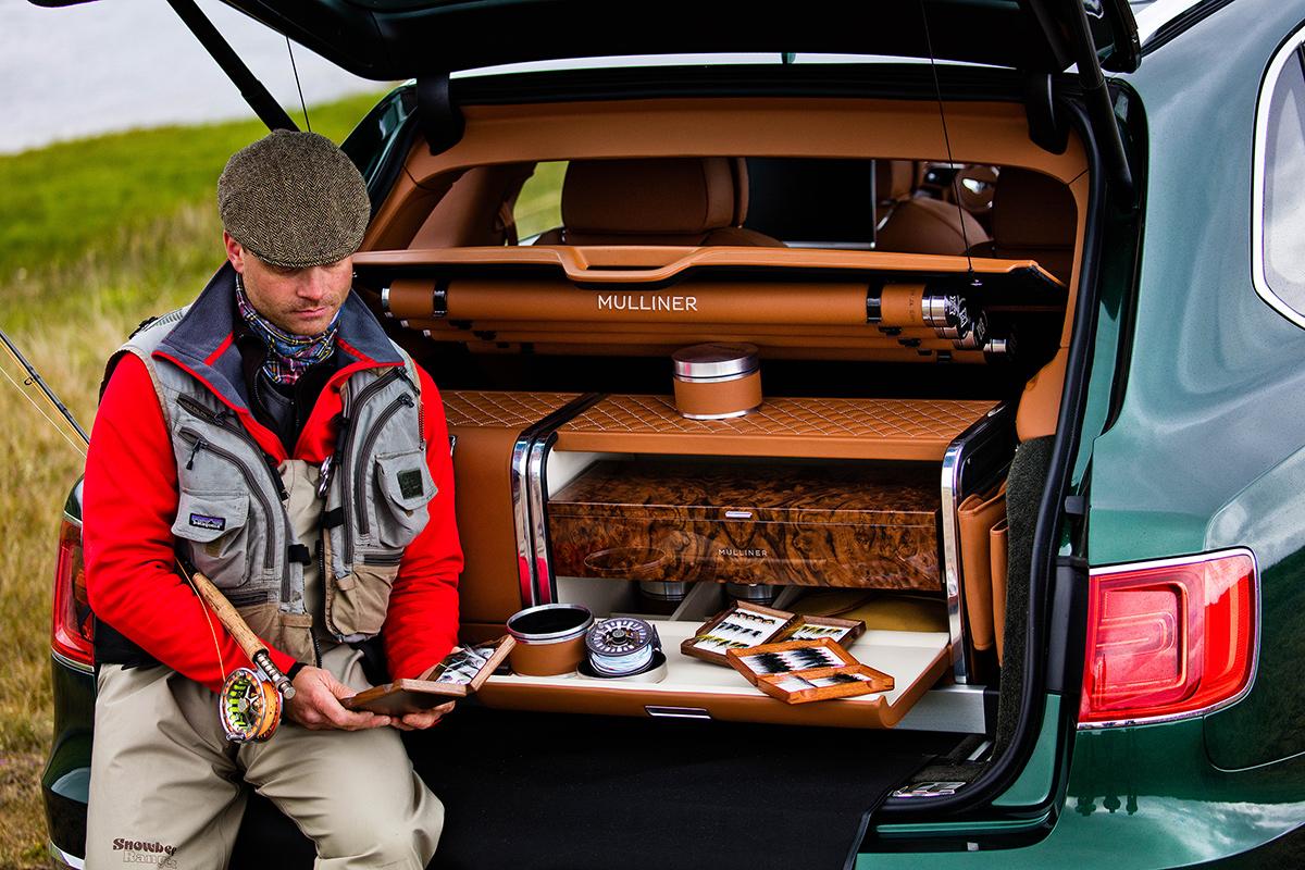 Специальная версия Bentley Bentayga для рыбаков