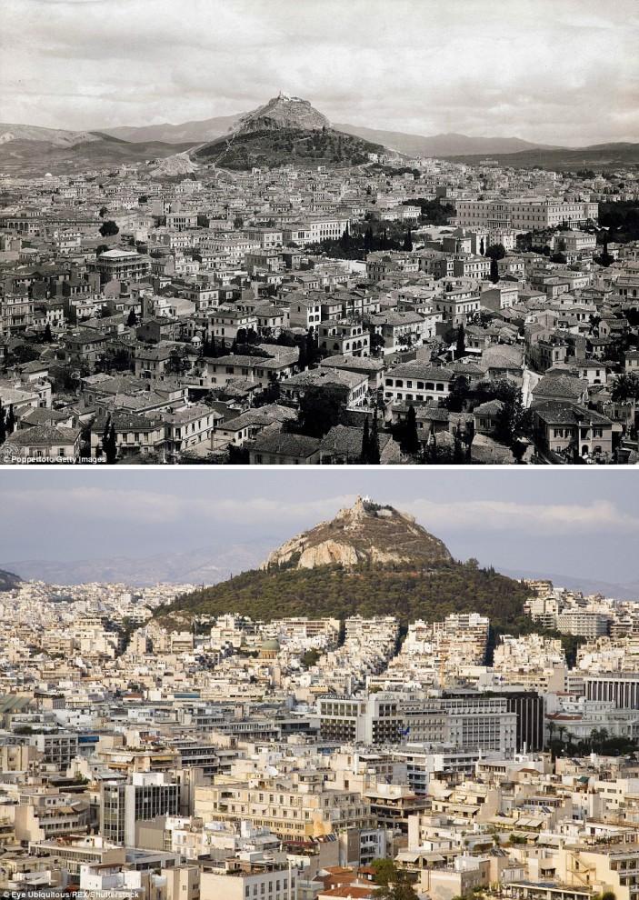 Города изменились до неузнаваемости за последние 100 лет