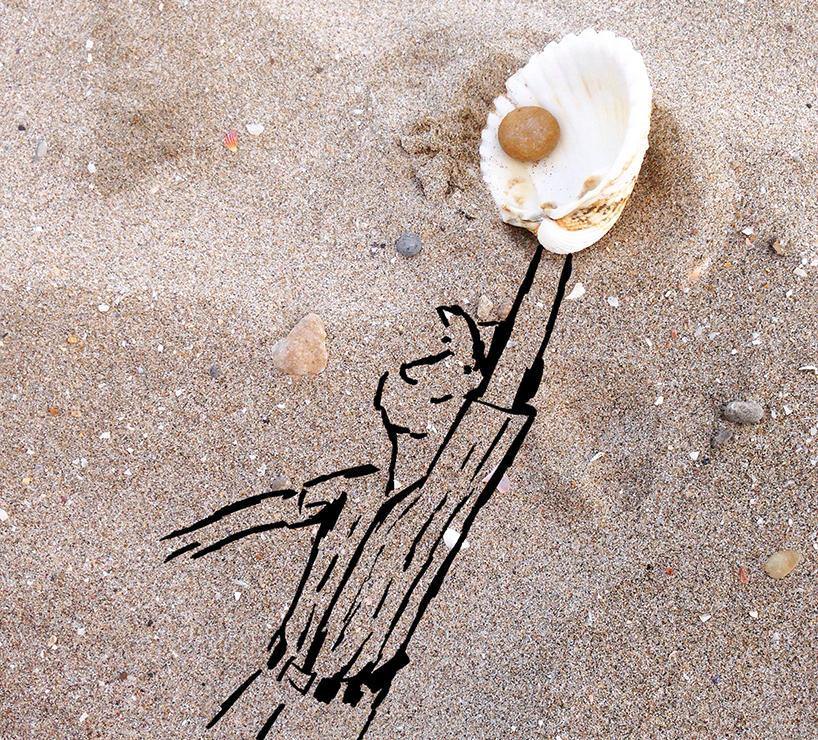 Креативные иллюстрации с предметами