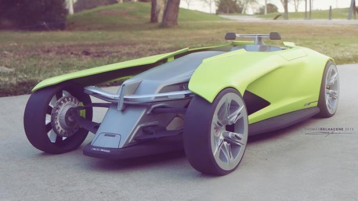 Osis - атомобиль будущего от Dodge
