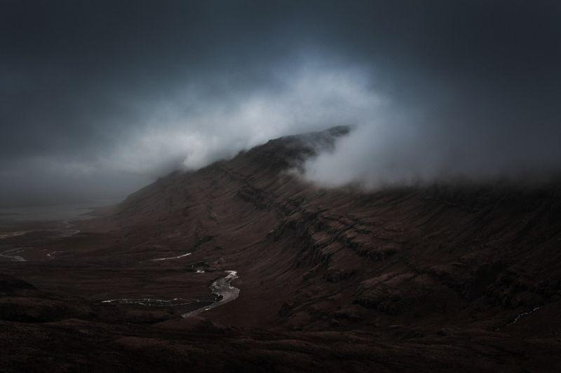 Мистические ландшафты от Бенджамина Хардмана