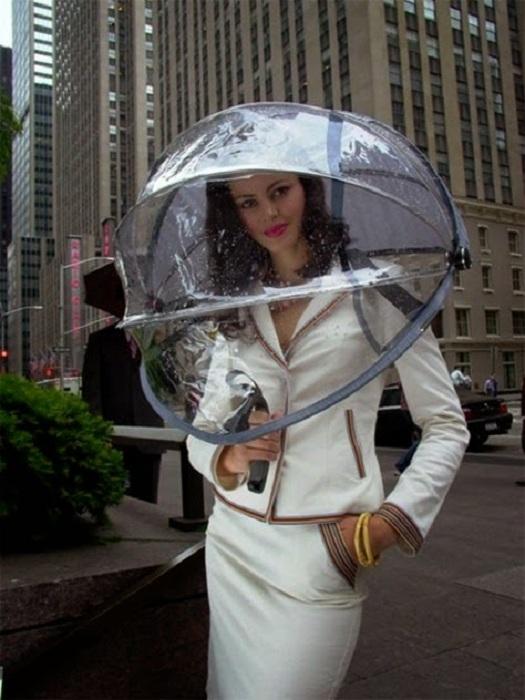 Об истории зонтика