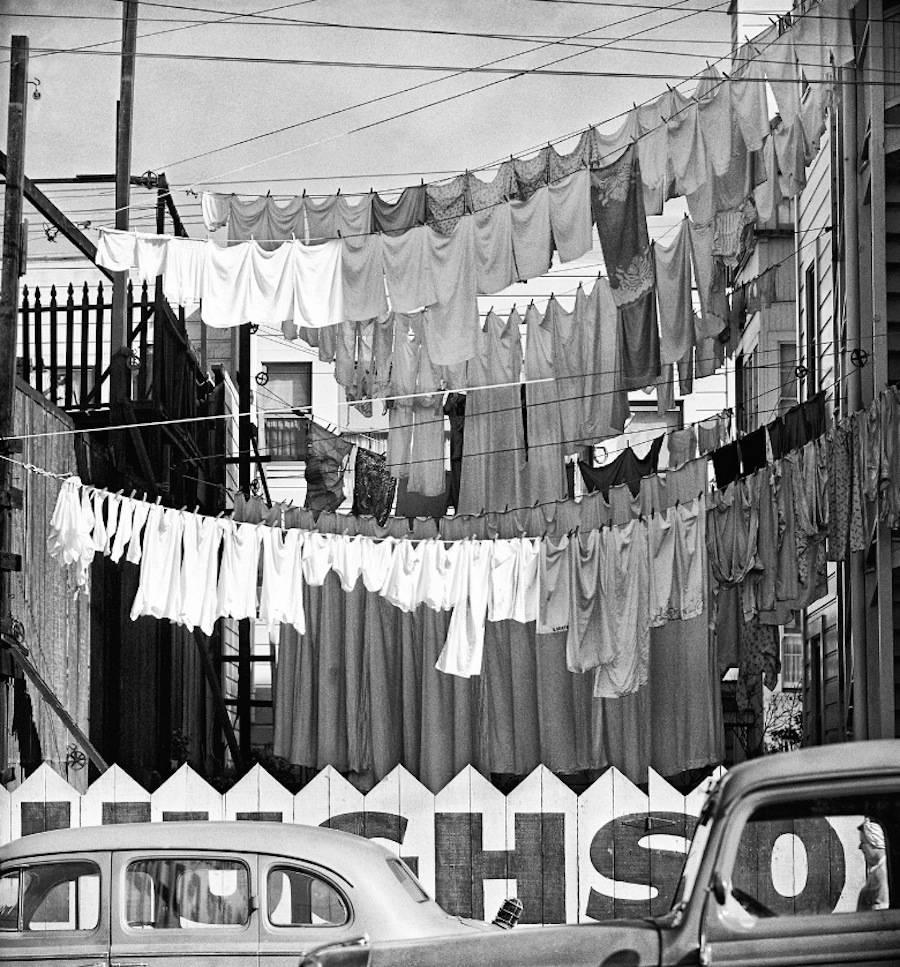 Сан-Франциско в 1940-50 годах в объективе фотографа Фреда Лиона