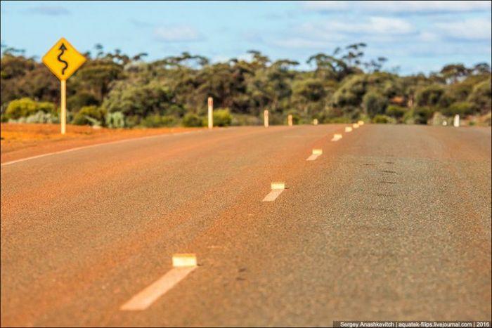 Идеальные австралийские дороги