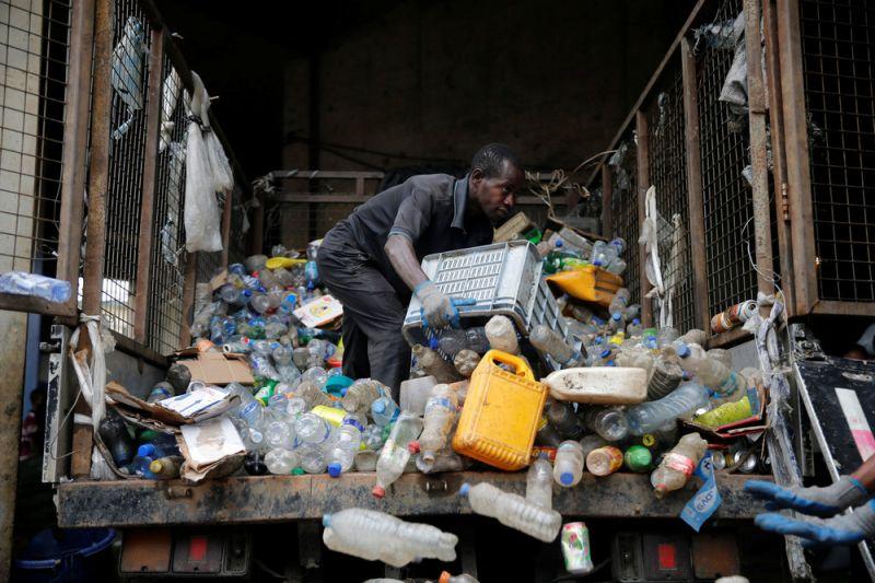 Переработка мусора в Нигерии