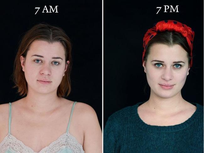 Как меняется человек в течение дня