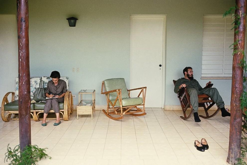 Куба при Фиделе Кастро в 1959–1969 годах от американского фотографа