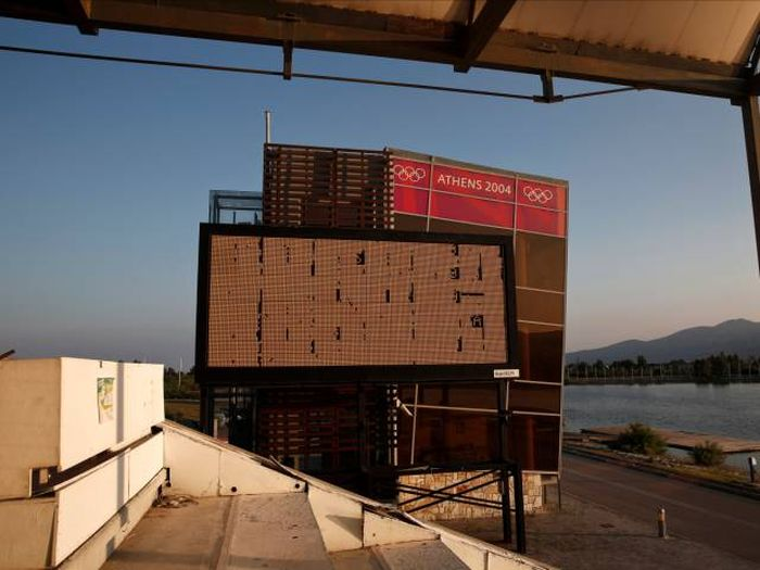 Олимпийская деревня в Афинах спустя 12 лет после Олимпиады