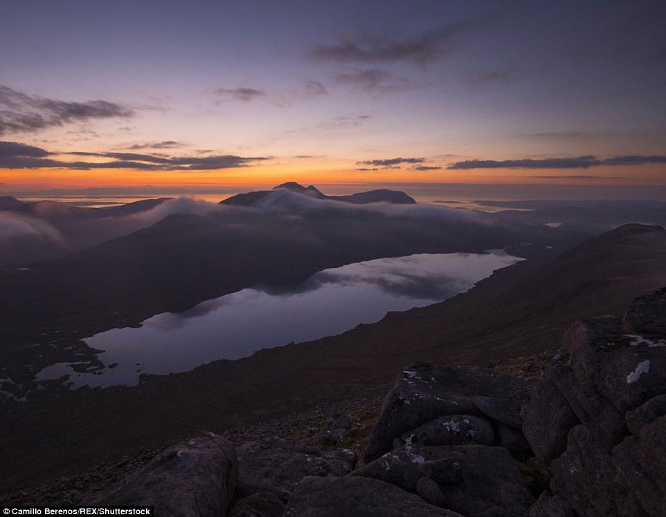 Великолепные пейзажи Шотландского высокогорья