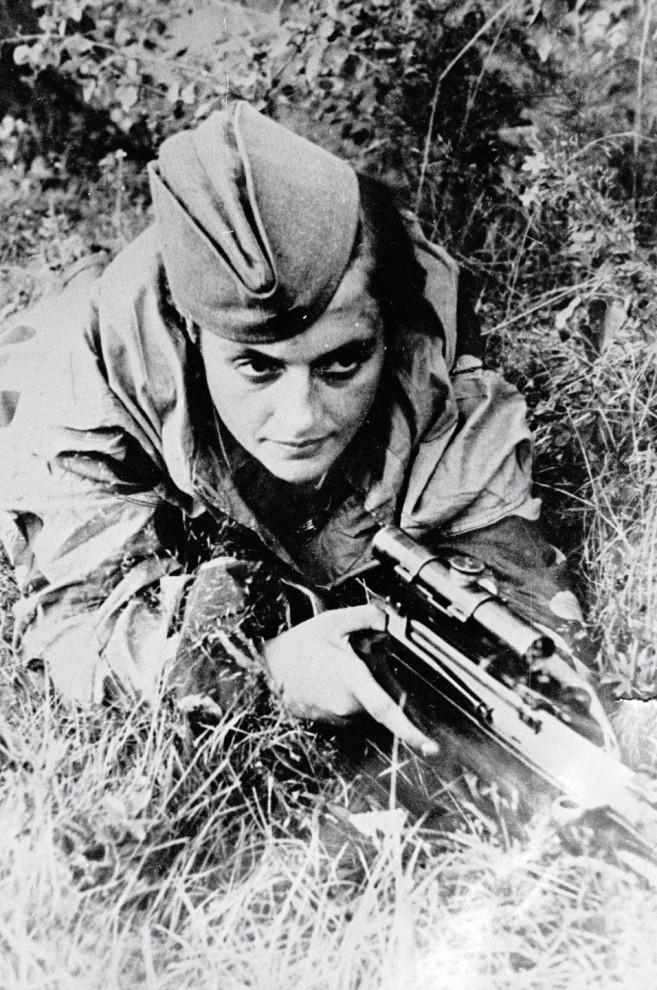 Советские женщины-снайперы: Мы косили гитлеровцев, как зрелое зерно