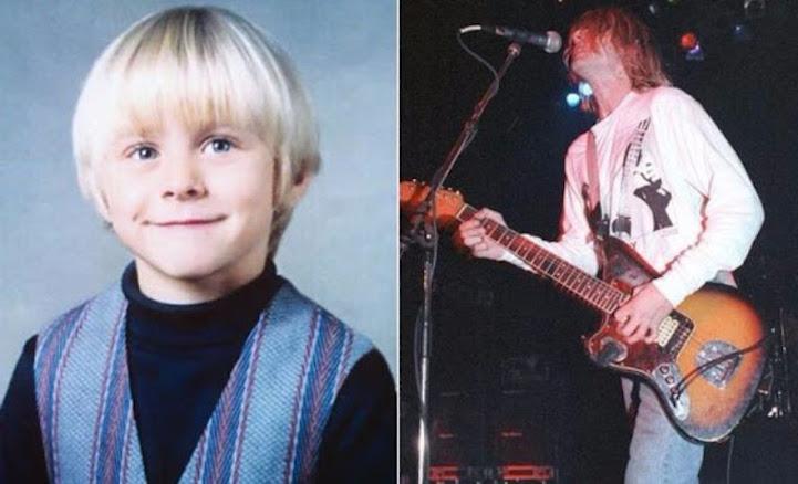 Детские фотографии культовых музыкантов