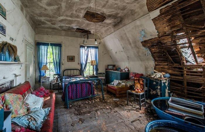 Заброшенный на протяжении 30 лет гостевой дом