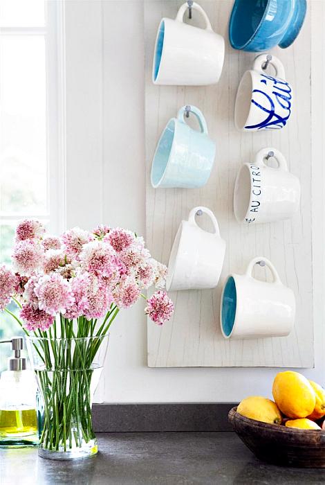 17 очаровательных идей хранения любимых чашек