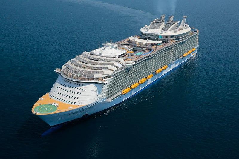 На борту самого большого пассажирского корабля в мире