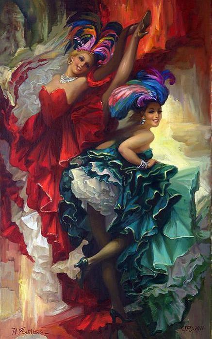 Канкан - танец, ставший визитной карточкой всех кабаре