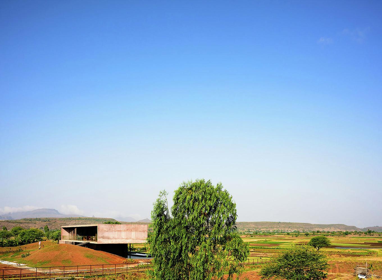 Панорамный дом в Индии