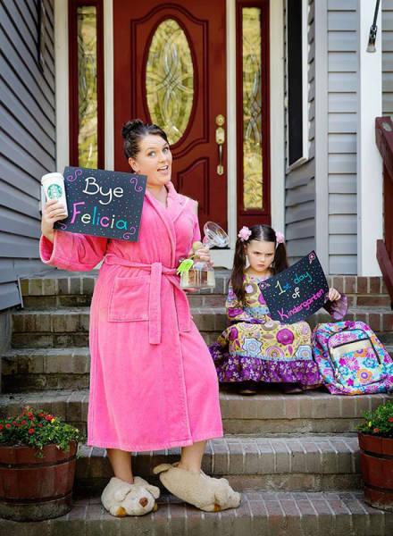 Родители радуются началу учебного года