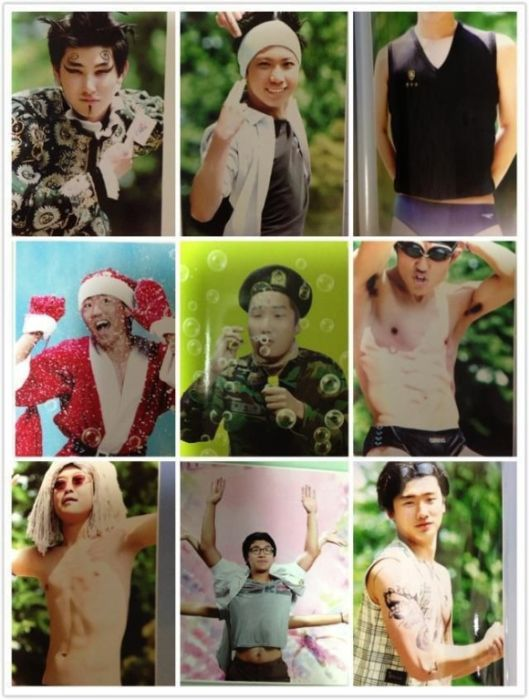 Забавные снимки из альбома корейских выпускников