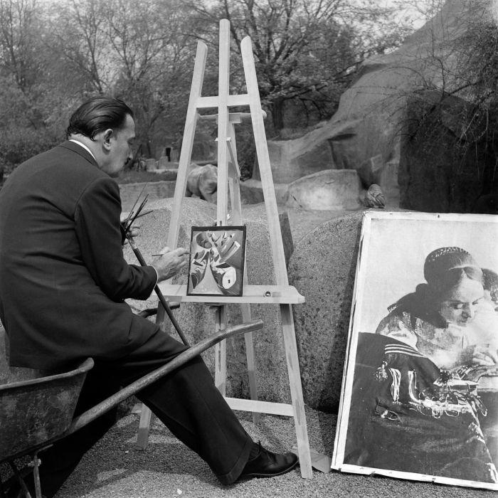 Как Сальвадор Дали рисовал картину Рога носорогов