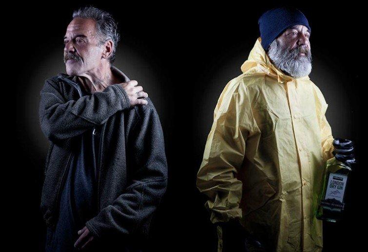 Бездомные и профессии их мечты