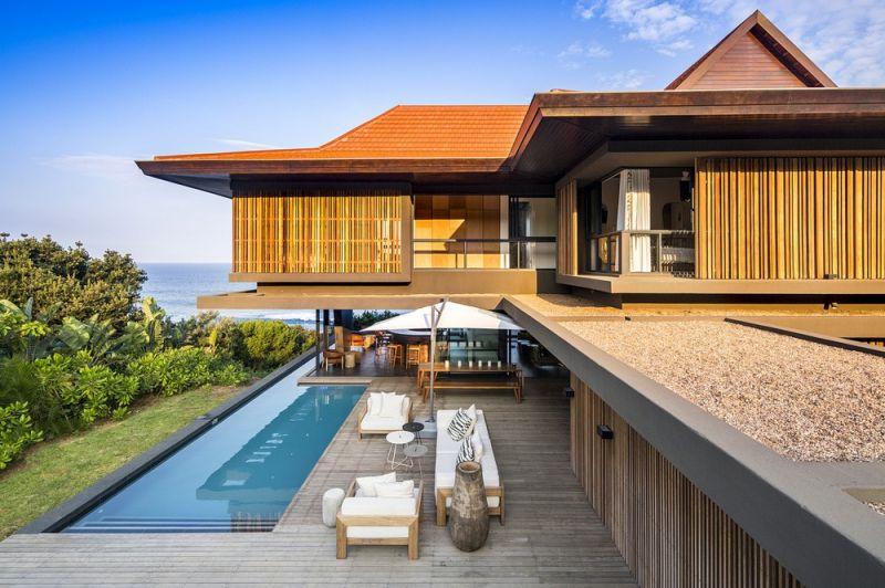 Особняк в ЮАР с видом на океан