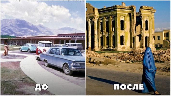 15 фото из восточных стран до и после исламской революции
