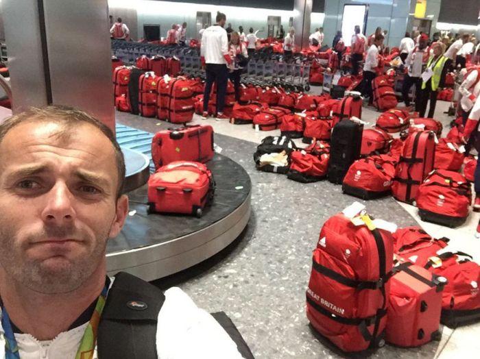 Британские олимпийцы не смогли найти свой багаж