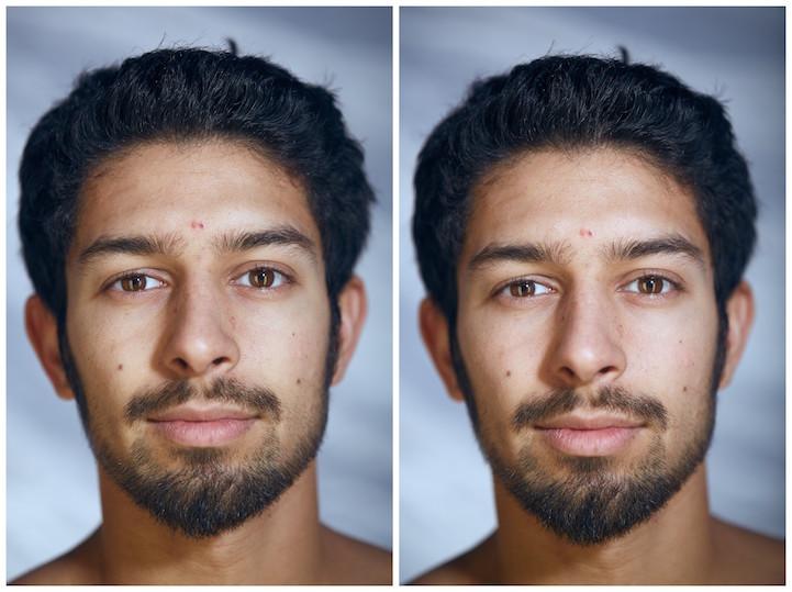 Как меняются лица людей, когда они раздеваются