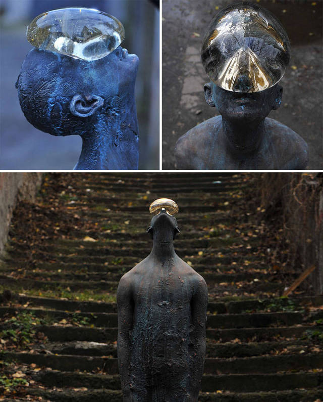 Необычные и интересные скульптуры со всего мира