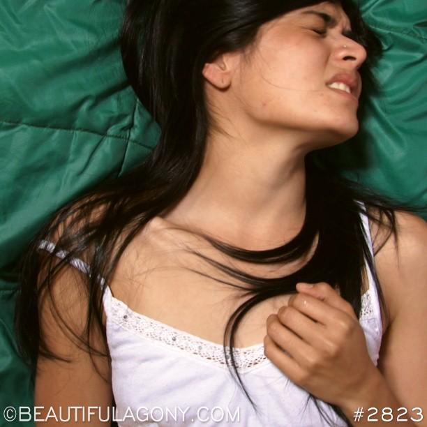 Сексуальность человеческих лиц в момент оргазма