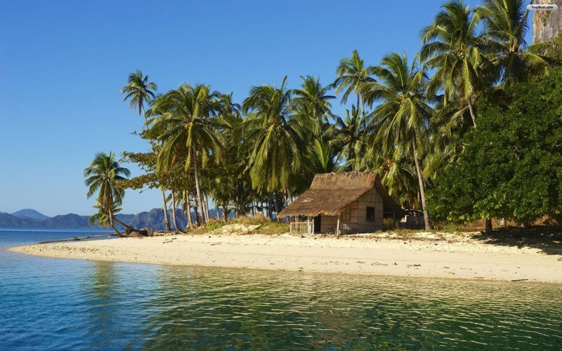20 одиноких, но уютных домиков на островах