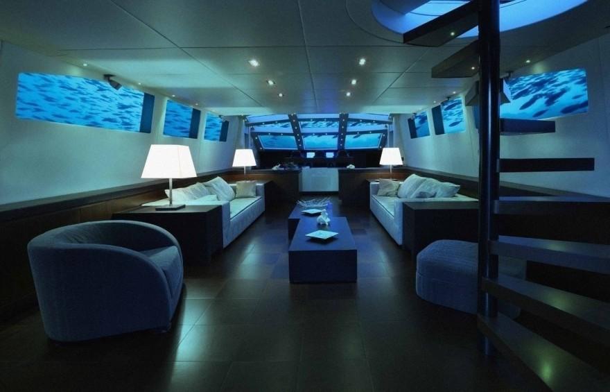 Luxury-субмарина для путешествий под водой