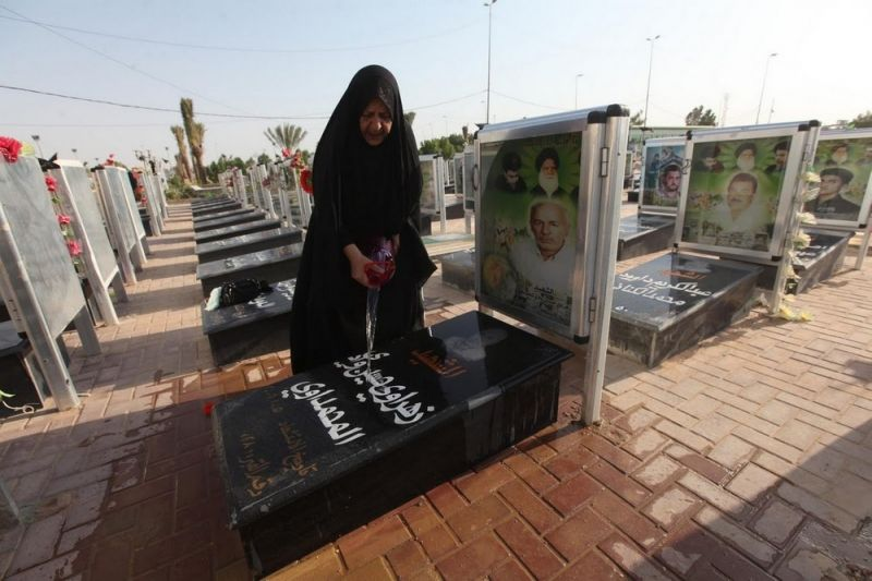 Иракское кладбище Вади ас-Салам — крупнейшее в мире
