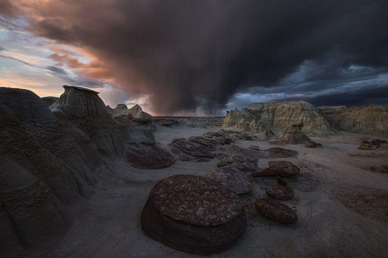 Инопланетные пейзажи пустоши Бисти