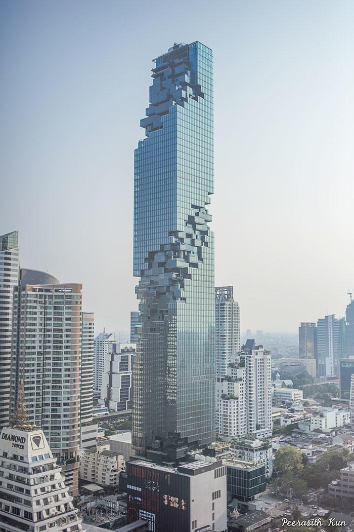 Самый высокий небоскрёб в Таиланде