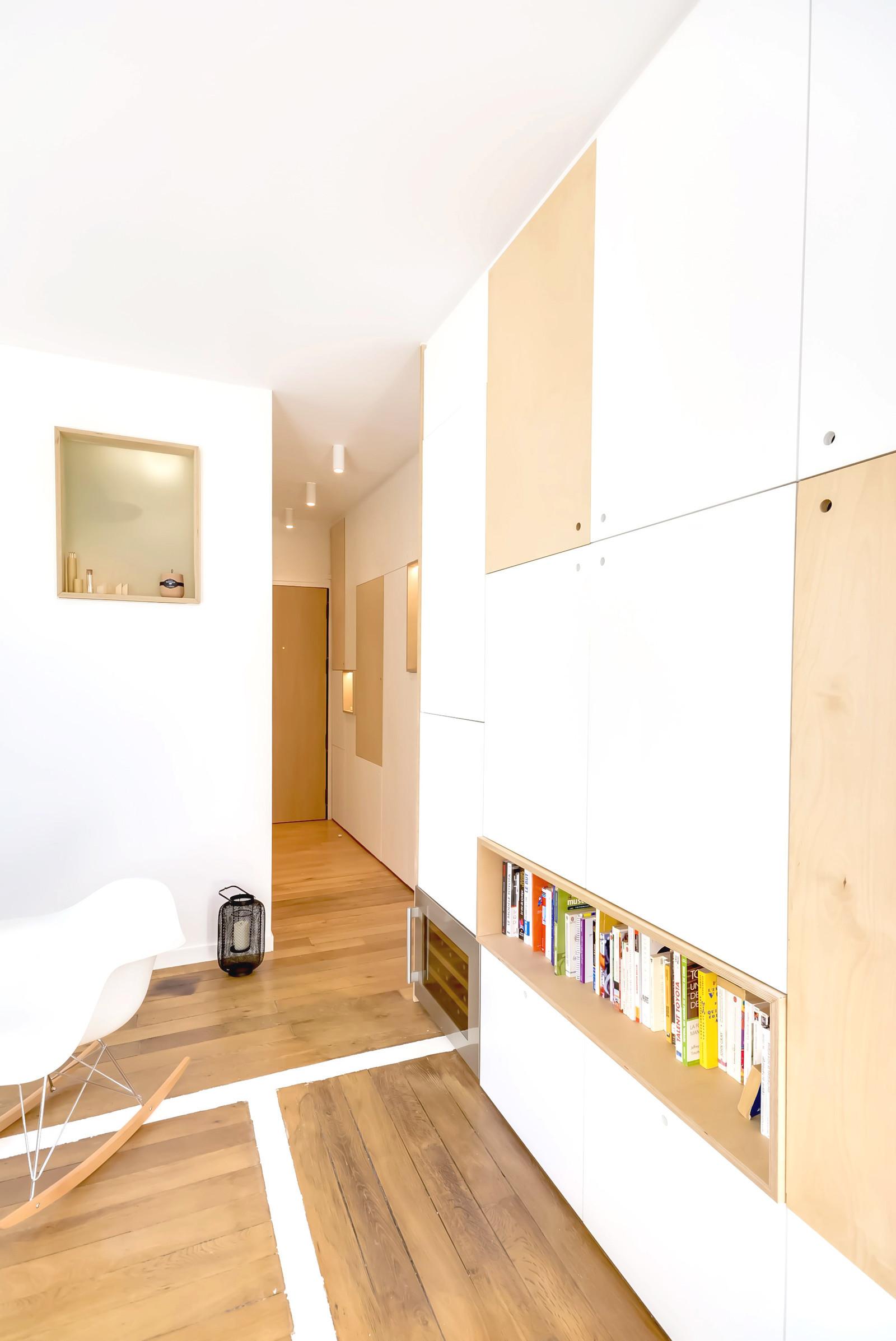 Квартира площадью 30 кв. метров в Париже