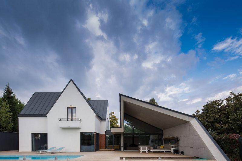 Реконструкция дома в Румынии
