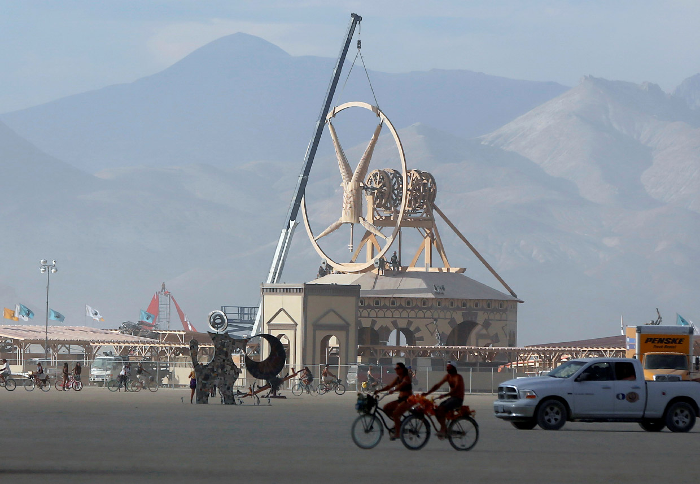 Фестиваль Burning Man 2016 в Неваде