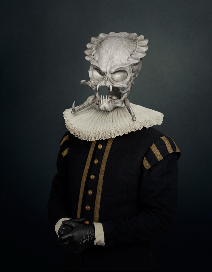 Скелеты киногероев в работах фотографа Трэвиса Дурдена