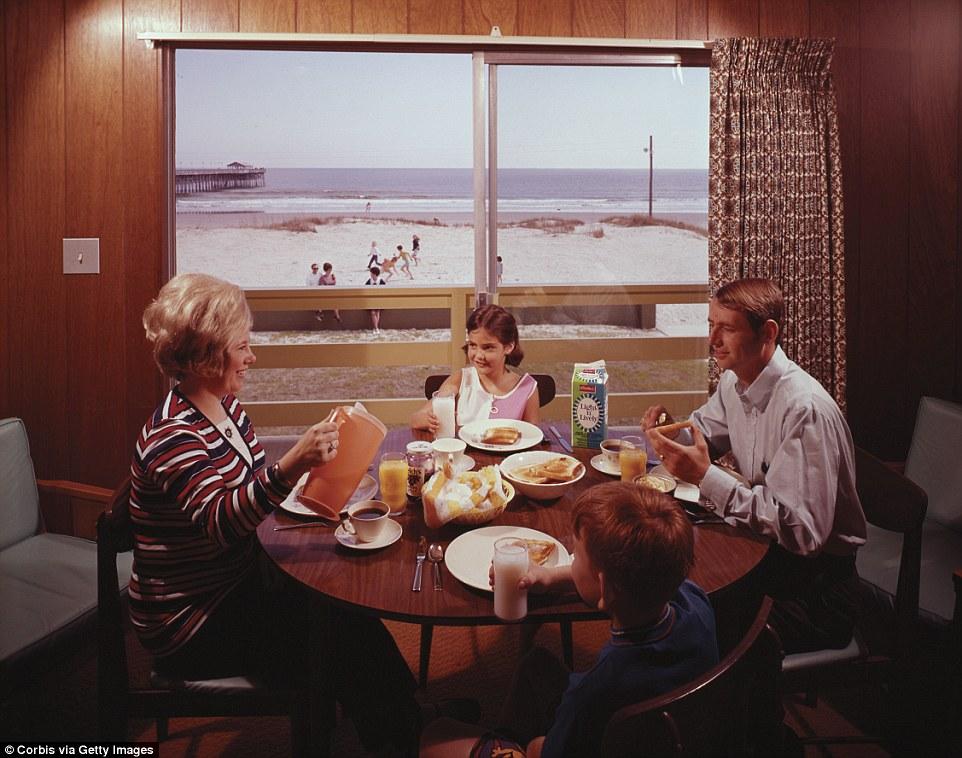 Золотая эпоха мотелей в США в 1960-х годах