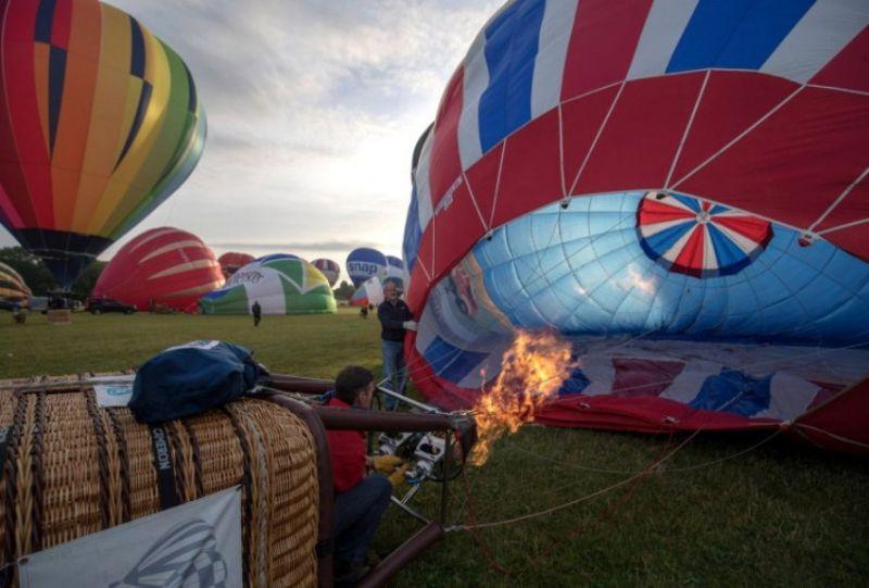 Как проходил Международный фестиваль воздушных шаров