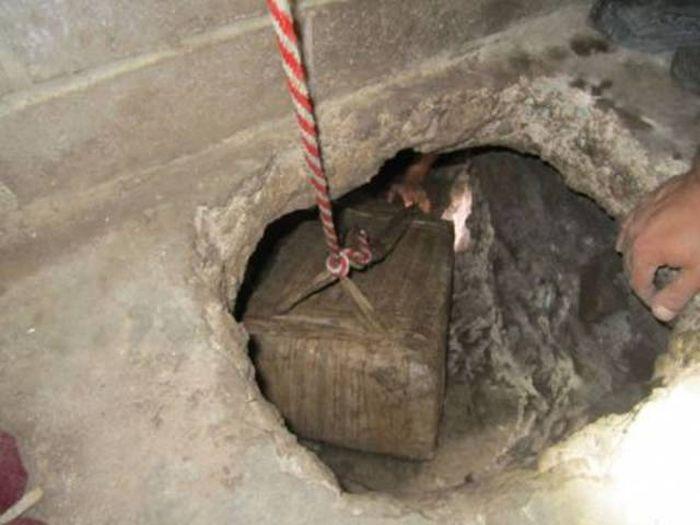 Подземные тоннели мексиканских контрабандистов