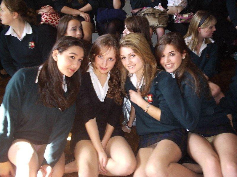 Засветы девушек
