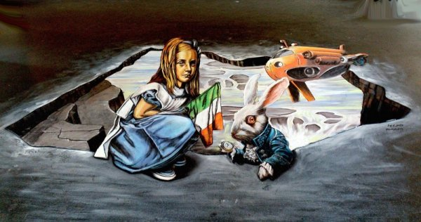 Как библиотекарша стала известным уличным художником